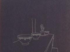 Mueble y cactus II, 2008.