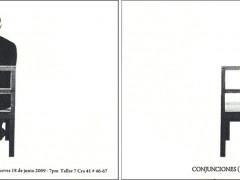 Conjunciones (La luz cala por el vano)