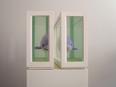 Two Sharks (or About  the study of  leading roles, 2008.