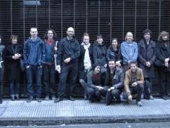 Algunos participantes de la residencia