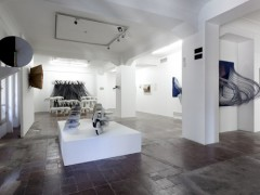 "View of the exhibition ""Idea Fija"""