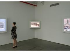 Gianfranco Foschino, vista de instalación en I-20 Gallery, Nueva York, 2010.