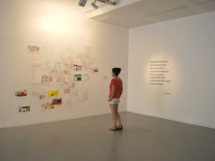 En la otra cuadra. Collaborative art project, Conversaciones de Campo (Rosario Carmona, Catalina Matthey, Rosario Montero y Paula Salas).