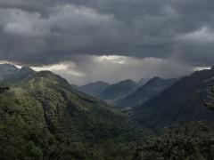 Sangay - Descenso a Macas, costado amazónico, Ecuador