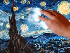 Petros Vrellis - Starry Night -– Grécia