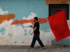 Redflag [walking], 2011