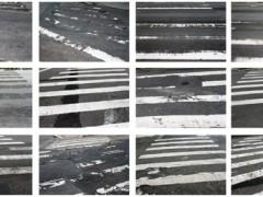 Crosswalks[serie with twelve photos]