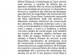 Arquivo Carpe Diem. 2010