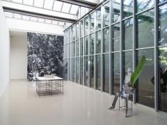 Vue de l'exposition Rendez - vous 15, Jeune création internationale / Biennale de Lyon.