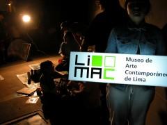 LiMAC light box with street artists