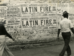 Ever Astudillo, sans titre, série Latin Fire, 1975-1978.