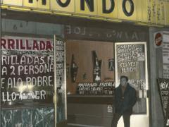 Leonora Vicuña, El Mundo, calle San Diego, Santiago de Chile, 1981