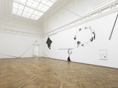 Endless openness produces circles, installation view