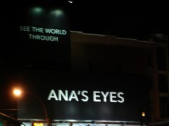 See the world through Ana's eyes.