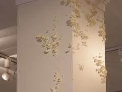 Instalación-hongo, sin título, Galería Vasari, 2013