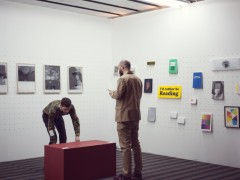 Jordan Nassar and Shannon Michael Cane of Printed Matter (New York)