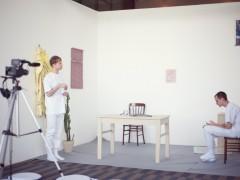 """Otras Obras (Tijuana), """"Dando y Dando, Pajarito Volando"""" performance in situ"""