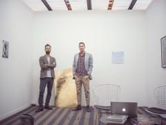 Chris Sharp (Lulu, Mexico City) and Michael Clifton (Clifton Benevento, New York City)