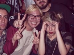 Saturday night's NAAFI + Material Party