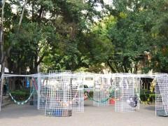 Estacion movil para hamacas