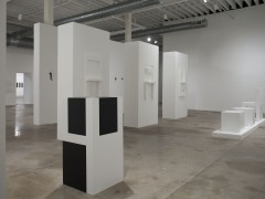 Installation view of Fleeting Imaginaries at CIFO, 2014.