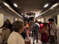 Espacio de Arte Contemporáneo, vistas de la planta principal y el subsuelo.