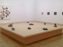 """Installation view of """"Gabriel Orozco-Inner Cycles"""""""