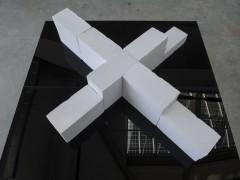 Batiment en croix-
