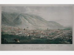 W. Wood, (Activo c. 1840) View of the City of Caracas from the Calvary 1839