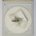 Armillarea #3, 2015 - Paula de Solminihac - Paper from the artist diary 34x41 cm