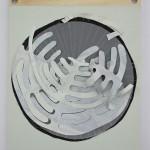 Armillarea #4, 2015 - Paula de Solminihac - paper from the artist diary 34x41 cm
