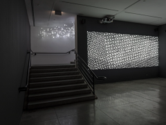 Installation view of Magdalena Fernández at MOCA Pacific Design Center