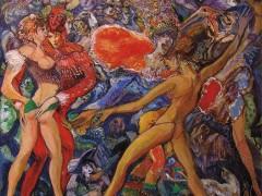 Muestra Antológica Pinturas en los ritmos del tiempo: Vale la carne