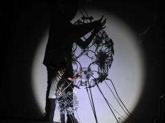 Performances sonovisuales programadas para FASE 8.0 en el Centro Cultrual Recoleta.