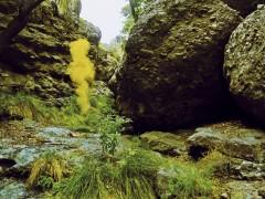 Ya tranquilizado del todo observe la caverna con suma atención.