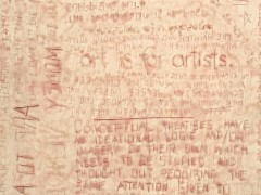 G.M.C. O+ / 14,565.6 cm2 (detalle), 2009