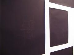 Rectángulos azules, 2008.