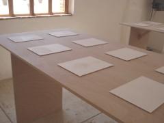 Luz y materia. Recorrido oval, 2012