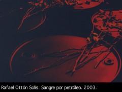 """Exposición """"Umbral de fuego"""" de Rafael Ottón Solís"""