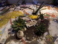 Patio o pintura para piso y plantas, (detalle). Arteba, Petrobras, 2007  (primer premio)