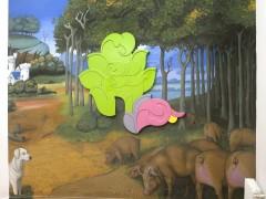 Natural - Fabián Bercic - S/t (mural). 2010