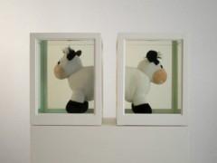 Dos vaquitas (o Acerca del Estudio de los Protagonistas…), 2007.
