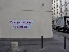 Intervenciones urbanas, París (2011).