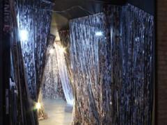 Tren Fantasma. Intervención in situ en el túnel 4 del Centro Cultural Parque de España, Rosario; 2008.