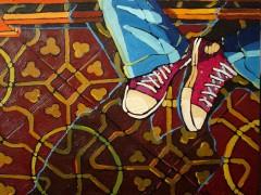Encontre el amor de mi vida, oil on canvas, 2009, private collection