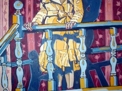 Quien anda ahi?, oil on canvas, 2005, private collection