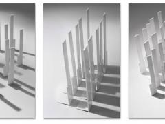 Sin título, tríptico, fotografía digital, 44 x 30 cm c/u, (sin marco) 1/5