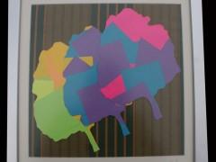 Impresión sobre Post-it y tela, 30x30 cm.cada uno.