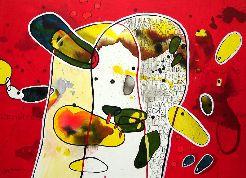 Tres pintores chilenos