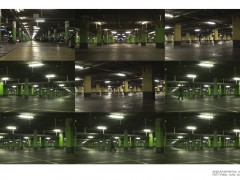 estacionamientos, vacíos, 2008